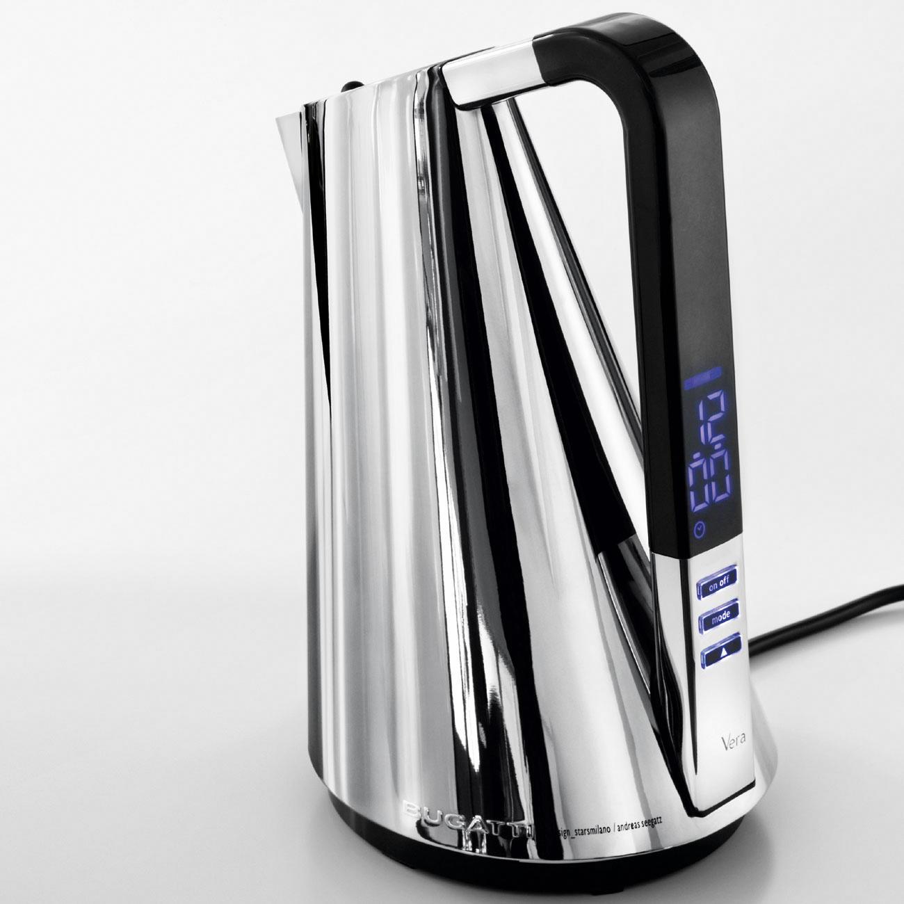 bugatti design wasserkocher mit 3 jahren garantie. Black Bedroom Furniture Sets. Home Design Ideas